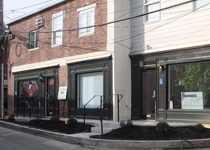 Renovations and Additions to alley retail spaces