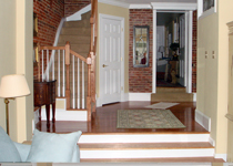 Residential Townhouse Addition Staircase
