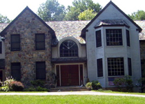 Design and Build Custom Residence in Chester Springs Front Elevation